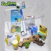 Пластмасов аквариум 8л - детски комплект