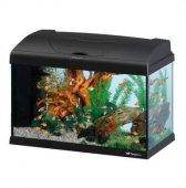 Ferplast CAPRI 50 LED - аквариум с пълно оборудване 40л., черен, 52x27x36см.
