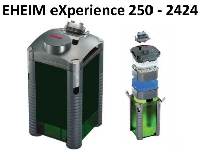 EHEIM eXperience 250 - 2424 - Външен филтър