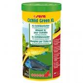 Sera Cichlid Green XL, 1000 мл - основна храна за по-големи риби