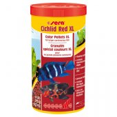 Sera Cichlid Red XL, 1000 мл - основна храна за по-големи всеядни риби