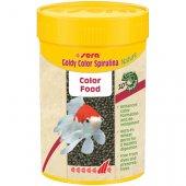 Sera Goldy Color Spirulina Nature, 250мл - гранули за златни рибки