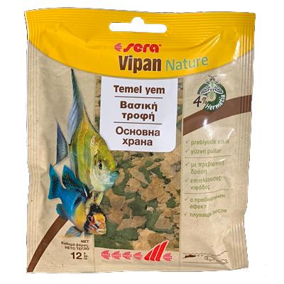 Храна за рибки Sera Vipan Nature, 12гр
