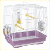 Ferplast CAGE REKORD 1 WHITE - клетка за птици 35,5x24,7x37см