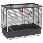 Ferplast CAGE PIANO 5 BLACK - клетка за птици, 71х38х63см