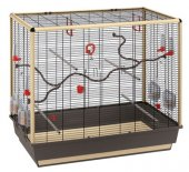 Ferplast CAGE PIANO 7 NOIR - клетка за птици, 97х58х83см