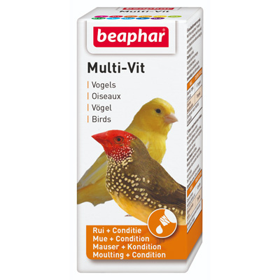 Beaphar Bird Vitamin, 20мл - мултивитамини за декоративни птици