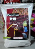 Versele Laga NutriBird P19 Tropical - Екструдирана храна за големи папагали, 10кг