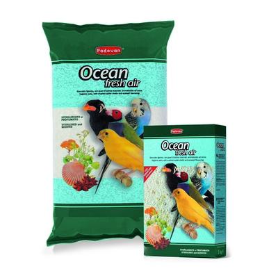 Padovan OCEAN fresh air, 5кг - хигиенен пясък за птици