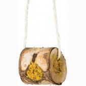 JRFarm ролка от широколистни дървета, пълна с вкусна пълнозърнеста смес, 150гр