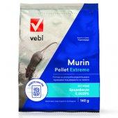 Murin Pellet Extreme, 140гр - Отрова за мишки и плъхове