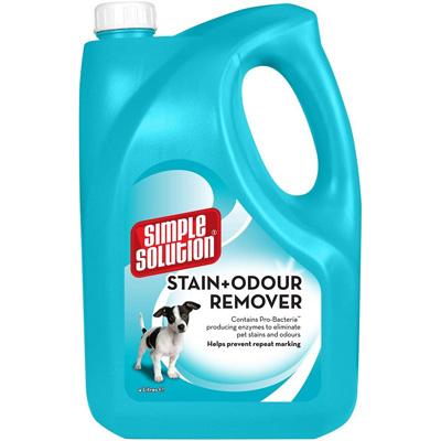 Simple Solution Stain & Odour Remover - Спрей за кучета, против петна и миризми, 4л
