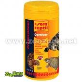 Sera Reptil Carnivore - храна за месоядни, 1000мл, 330гр