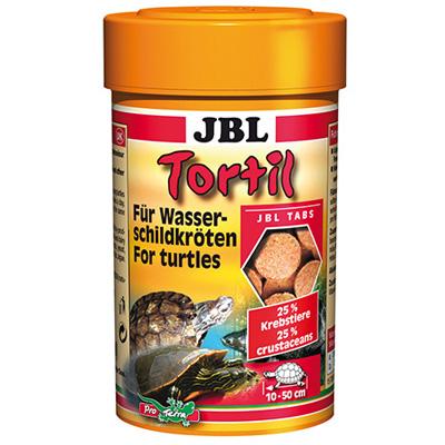 JBL Tortil, 100мл, 160 таблетки - храна за костенурки