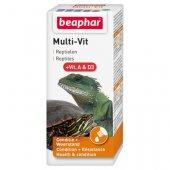 Beaphar Multi-Vit Витамини за влечуги, 20мл