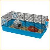 Клетка за мини хамстери и японски мишки Ferplast Kora Black, 58х31х20 см