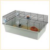 Клетка за хамстери, мини хамстери и японски мишки Ferplast Kios Black, 70х47х28 см