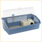 Клетка за зайци Ferplast Rabbit 100 DeLuxe, 101.5х53х33 см