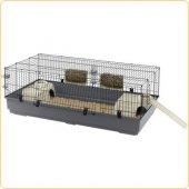 Клетка за зайци Ferplast Rabbit 140 Black, 140х71х51 см
