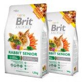 Brit Animals RABBIT SENIOR Complete - храна за възрастни зайци