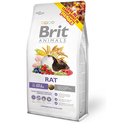 Brit Animals Rat - храна за плъхчета