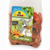 JRFarm Натурални резенчета от моркови за гризачи, 125гр