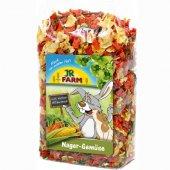 JRFarm Зеленчуков микс за гризачи, 150гр
