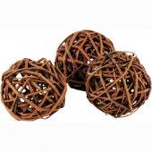 JRFarm Мини топче от натурална върба и хрупкави ябълки, 3 броя, 20гр