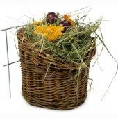 JRFarm Върбова кошница със сено и билки, 120гр