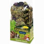 JR Farm Беззърнена храна за гризачи с кимион и глухарче, 100гр