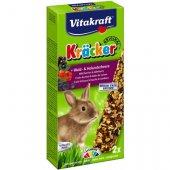 Vitakraft Крекери с горски плодове за заек, 2 броя