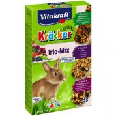 Vitakraft Trio Mix - Крекери Микс за заек, 3 броя