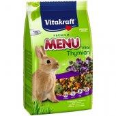 Vitakraft Premium Menu Vital Thymian - храна с мащерка за зайци