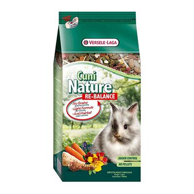Versele Laga Cuni Nature Re-Balance - пълноценна храна за зайци