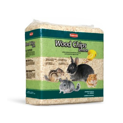Padovan Wood Chips, 14л, 1кг - Талаш с аромат на лимон