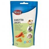 Trixie Karotten Drops, 75гр - дропс с моркови, витамини и минерали