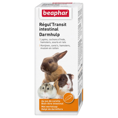 Beaphar Darmhulp 100мл - хранителна добавка за декоратативни гризачи