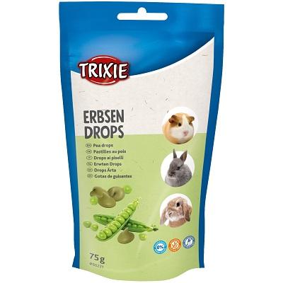 Trixie Erbsen Drops, 75гр - дропс с грах, витамини и минерали