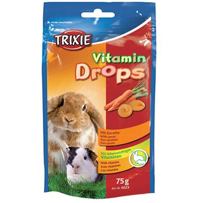 Trixie Drops Vitamin, 75гр - дропс с моркови