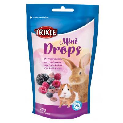 Trixie Mini Drops, 75гр - с горски плодове