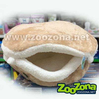 Къщичка с пухена възглавничка - 27см x 24см