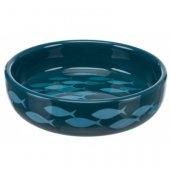 Trixie Керамична купа на рибки, синя - 300мл, 15см