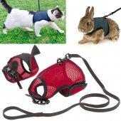 Ferplast Jogging L - нагръдник с повод за котки и зайци