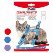 Camon Нагръдник и повод за котка, различни цветове