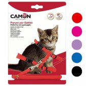 Camon Нагръдник и повод за котета, различни цветове