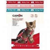 Camon Нагръдник и повод за котка Kitty Cat