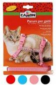Camon Нагръдник и повод за котка с камъчета