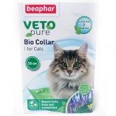 Beaphar Veto Pure Bio Collar - Репелентен нашийник за котки, 35см
