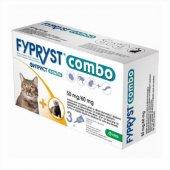 Fypryst COMBO 50mg - Фиприст за котки, 3 броя пипети