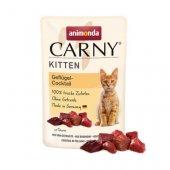 Animonda Carny Kitten, пауч - птичи коктейл